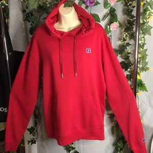 *Russell Athletic* Men's red hoodie size M